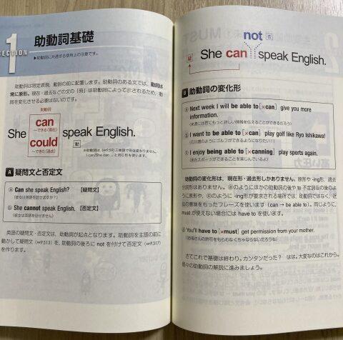 「1億人の英文法」中身の一例