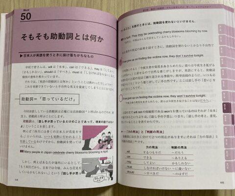 「英文法の鬼100則」中身の一例